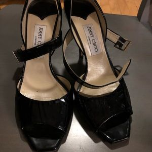 Jimmy Choo patent leather heels size 39